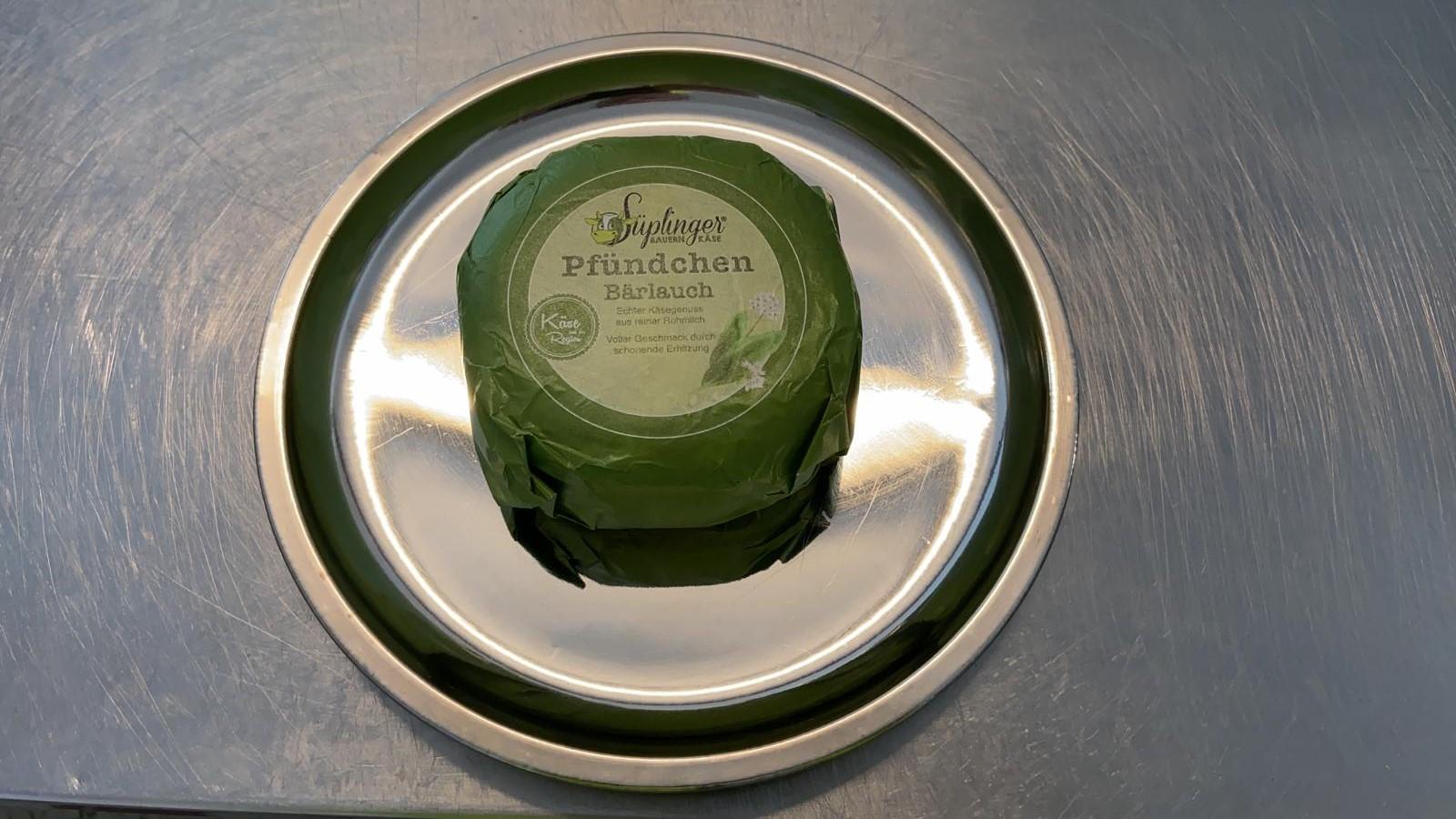 Süplinger Käse - Pfündchen Bärlauch
